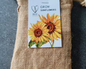 Grow Sunflowers Gift Tin