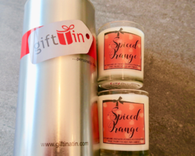 Candle gifts : Spiced Orange